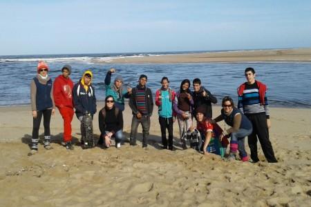 """""""Turista por un día"""" en la Laguna de Rocha con alumnos de CECAP"""