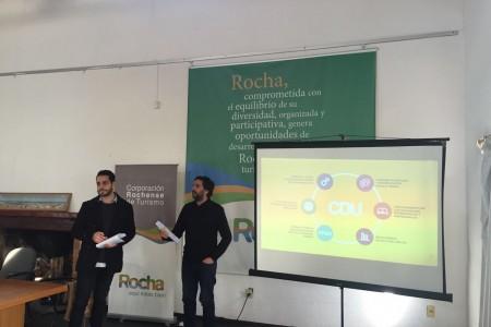 Se realizaron charlas en Rocha y Chuy de formalización del sector turismo y el diseño como herramienta