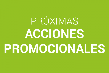 Participa en las próximas acciones promocionales de la OGD Rocha