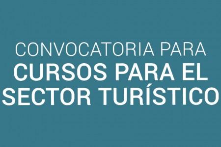 Convocatoria para cursos para el sector turístico