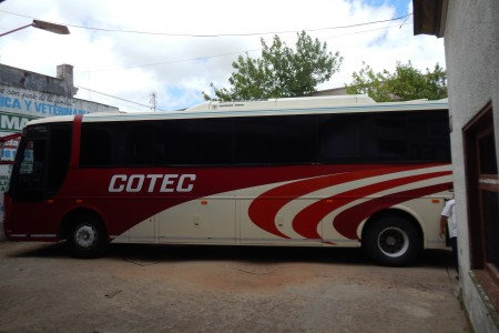 COTEC, transport company in Rocha