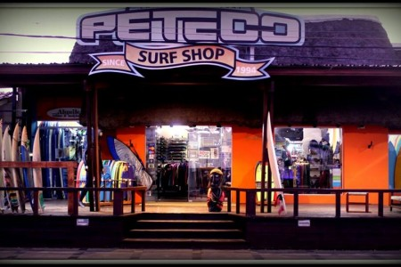 Peteco Surf Shop in La Paloma, shop for sportswear and clothing