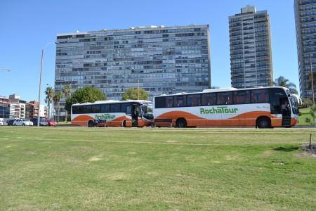 Rocha Tour, empresa de transporte, contratación para excursiones