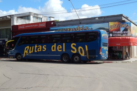 Rutas del Sol, transport company with WiFi on board