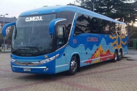 Climezul, contratación de ómnibus para traslados y turismo general