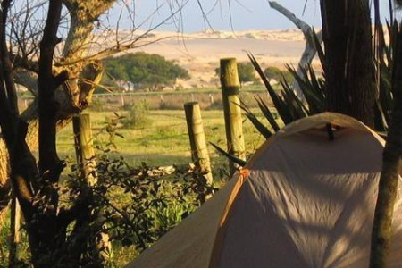 Lucky Valizas: Eco Camping - Eco Hostel