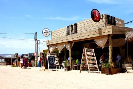 Mirjo Restaurante, con vista al mar, en Punta del Diablo