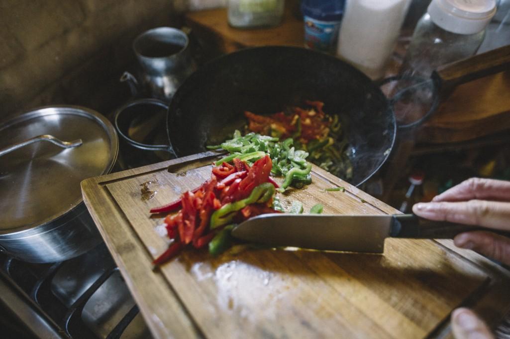 Gastronomía en las Sierras de Rocha