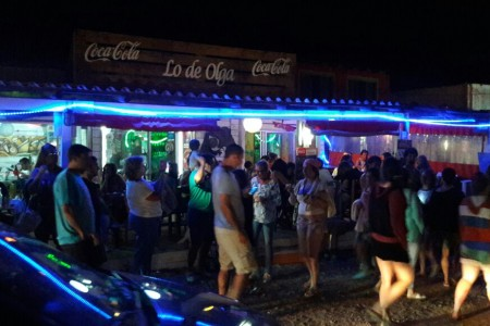 Lo del Olga Restaurant in Punta del Diablo, open all year