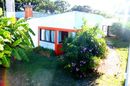 Cabañas Virazon in Aguas Dulces, cabins surrounded by gardens, a few blocks from the beach