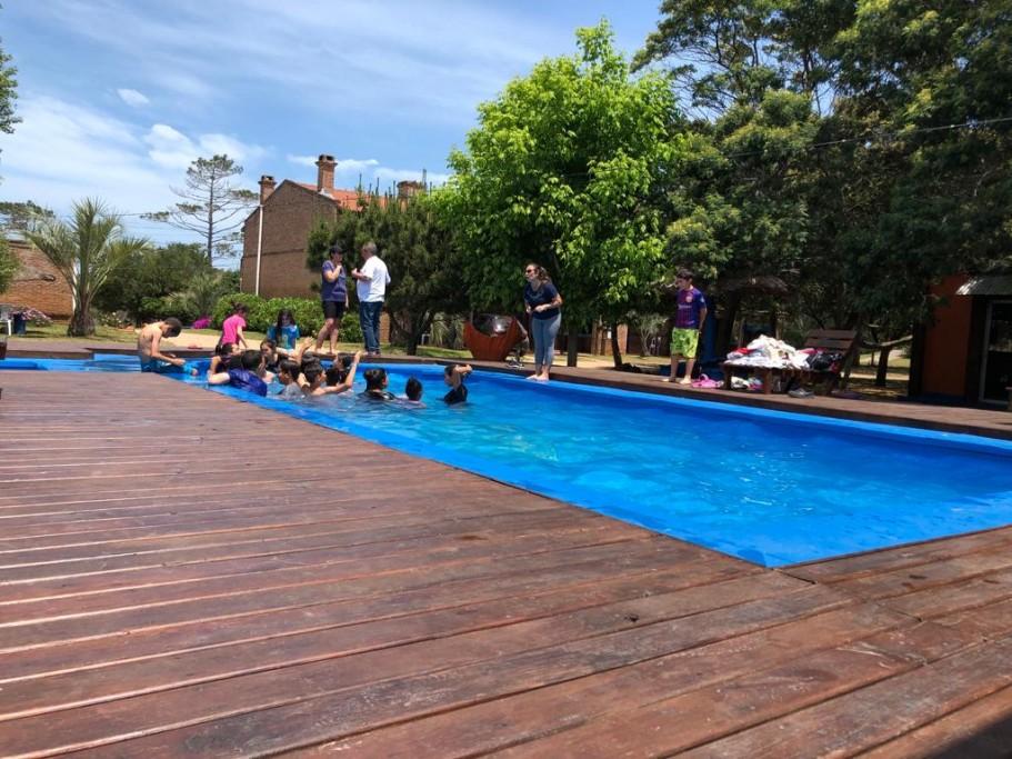 Piscina del Complejo Piccola Marina, Uruguay