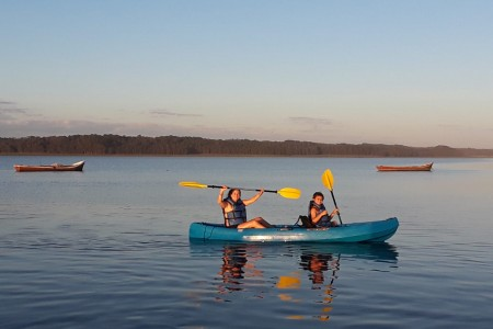 La Barrita de la Laguna, kayak rental in the Laguna de Rocha