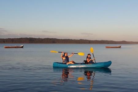 La Barrita de la Laguna, alugue caiaques na Laguna de Rocha
