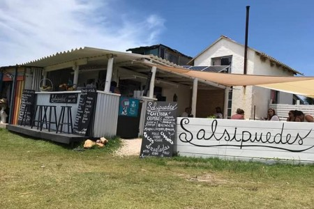 Salsipuedes in Cabo Polonio: coffees, sweet cakes, natural juices, smoothies salads. All homemade!