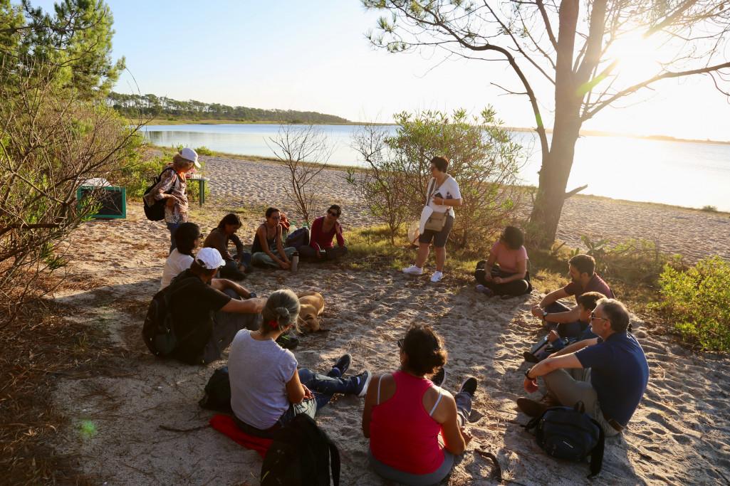 Actividades en Laguna Garzón