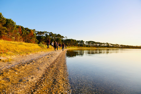 Laguna Garzón Ecotourism: trekking, horseback riding, kayaking and boating in the Protected Area in Uruguay