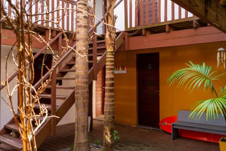 Beach Hostel La Balconada, frente a la playa com um de los mejores atardeceres de La Paloma, Uruguai