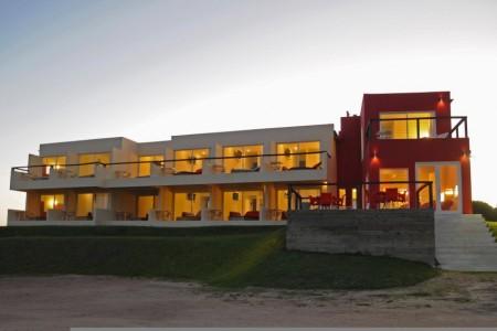 Terrazas de La Viuda en Punta del Diablo, habitaciones con terrazas y vista al mar
