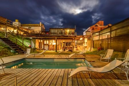 Hostel La Casa de las Boyas, alojamiento en Punta del Diablo