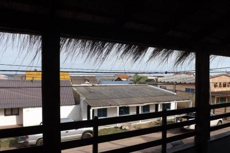 Hotel Brisas del Mar en el centro de Aguas Dulces