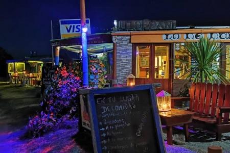 Lo de Dany restaurant in Cabo Polonio