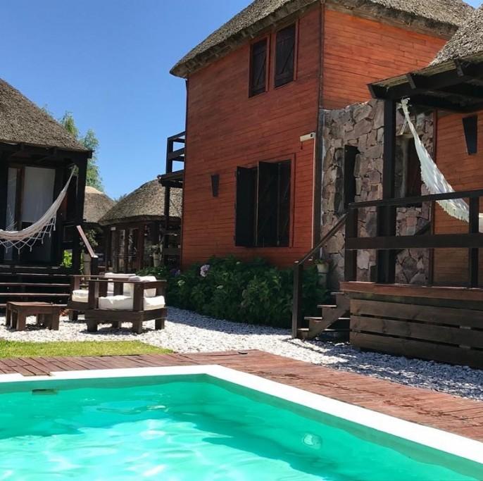 Piscina en Estenos de La Pedrera, Uruguay