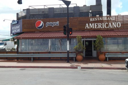 Americano restaurant and grill in the city of Rocha