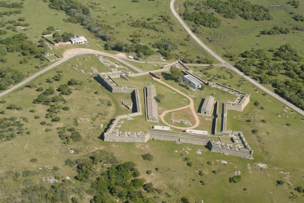 Vista aerea de la Fortaleza de Santa Teresa