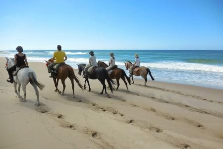 Cabalgatas La Pedrera, por la playa y campo