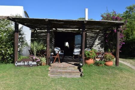 Casa de campo Guardia del Monte, nas margens da Lagoa de Castillos, Rocha, Uruguai