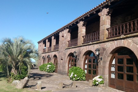 Fortín de San Miguel Inn and Restaurant, a few km from Chuy
