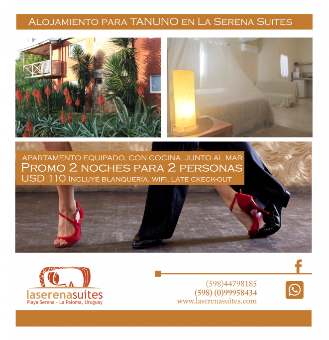 Promoción en alojamiento en La Serena Suites Apart en La Paloma