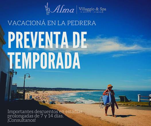 Promoción de verano en Alma de La Pedrera