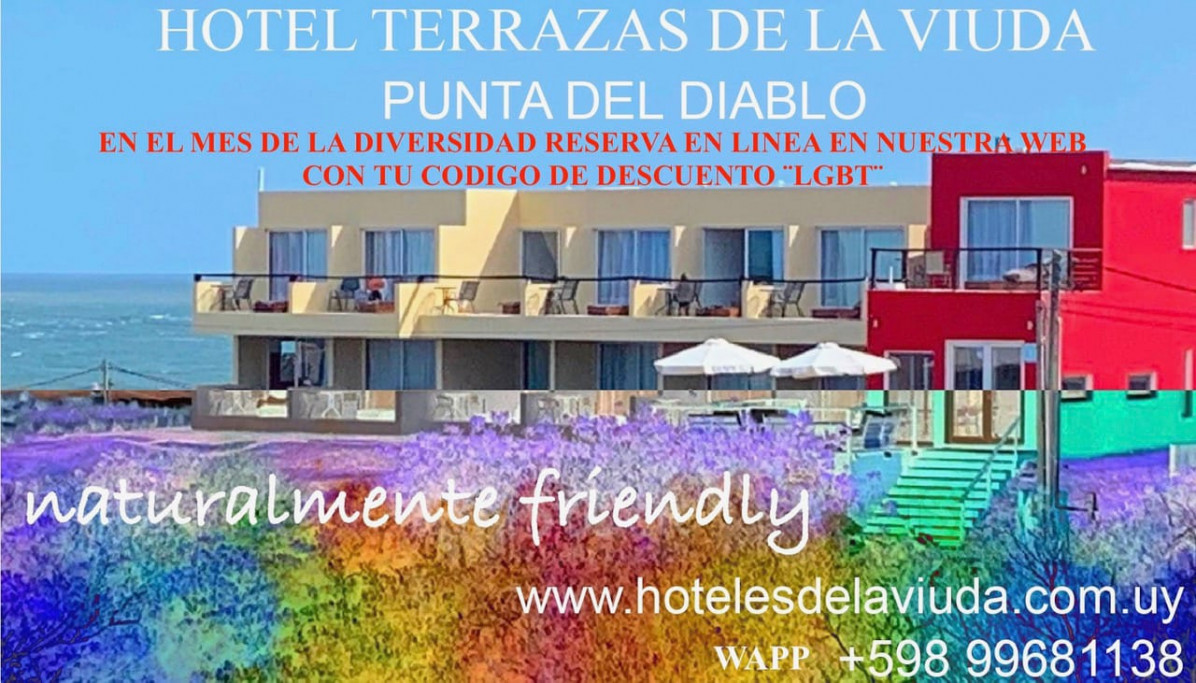 Promoción en Terrazas de La Viuda Hotel en Punta del Diablo