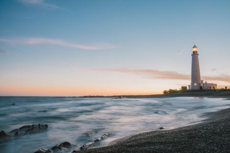 Disfruta La Paloma frente a playa La Balconda, con la mejor puesta de sol