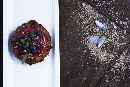 Brownie con harina de butiá, sin gluten. Una receta que le dará un sabor de Rocha, suave y exquisito