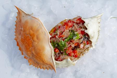 Casquiña de sirí: una deliciosa receta con la pulpa del cangrejo azul de las lagunas de Rocha