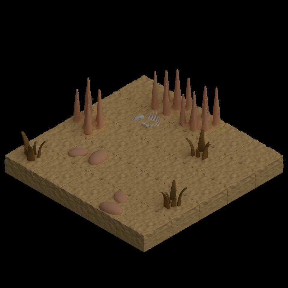 Isometric Desert