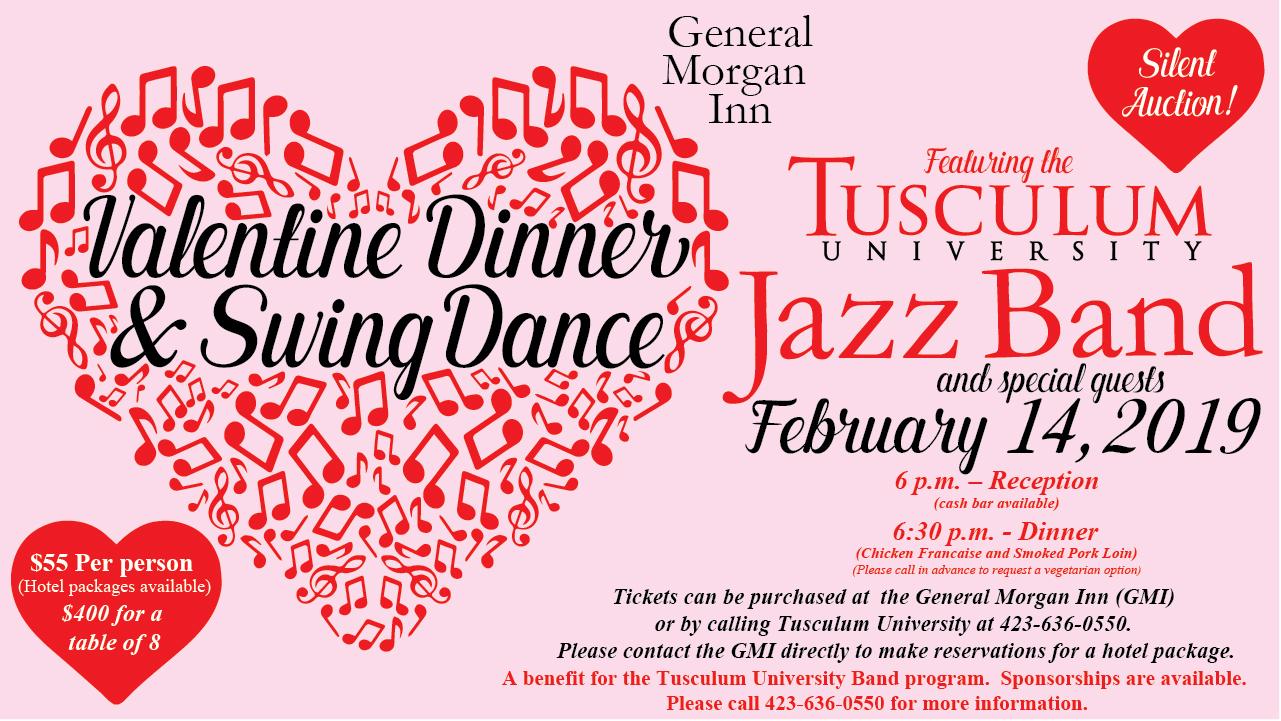 Valentine Dinner and Swing Dance