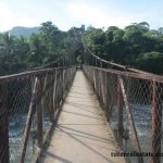 Bridge  to the comarca at RIo Luis