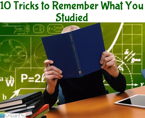 10 Tricks to Remember What You Studied