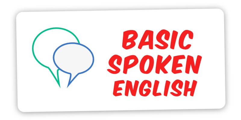 1852 Basic spoken English