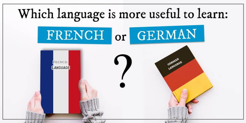 1852 Which language is more useful to learn French or German (1)
