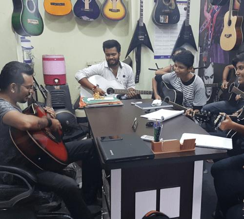 Joel Mogera, a Guitarist from Ahmedabad
