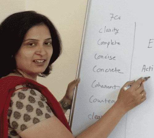 Mousami Nilakhe, a Communication Skills Trainer
