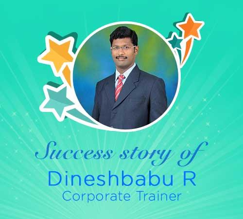 Dineshbabu R, Corporate Trainer, UrbanPro Success Story