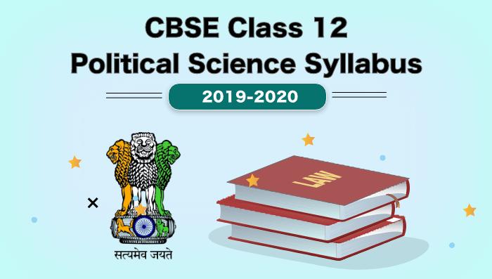 9 CBSE Class 12 Political Science Syllabus (1)