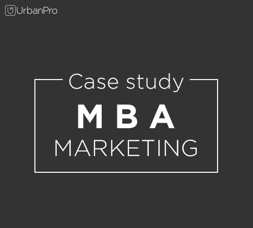 mba marketing case study Range of marketing strategy cases that will challenge you with a variety of unique,   this is not to say the case study course instructor is merely an observer.
