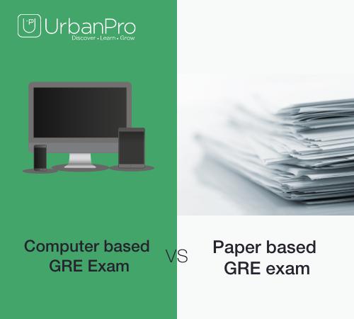 Computer Based GRE Exam versus Paper Based GRE Exam