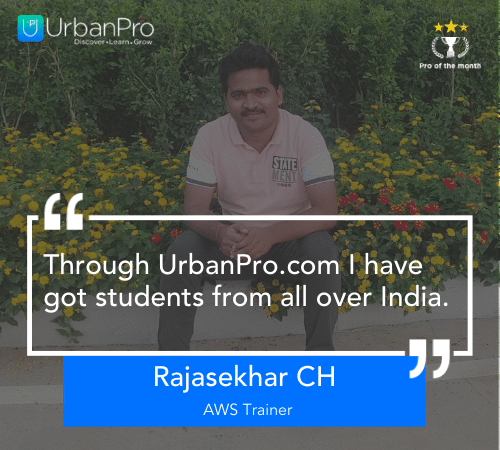 Rajasekhar CH - Certified AWS Trainer